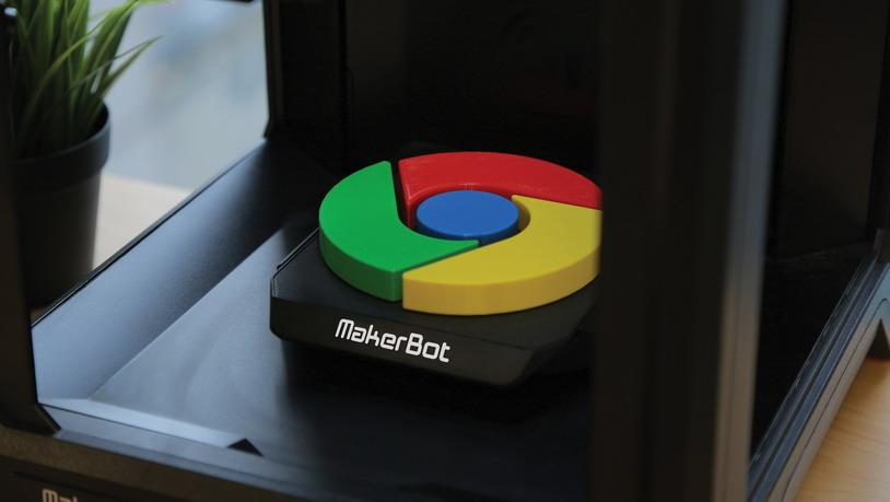 MakerBot свяжет Chromebook и 3D-принтеры в облаке