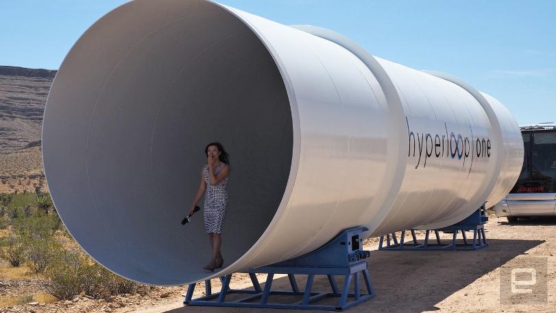Hyperloop One раскрывает свои планы по развитию транспортной сети в Европе