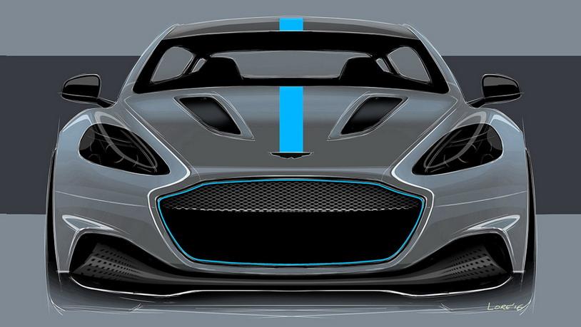 Электросуперкар Aston Martin пойдёт в серию в 2019-м