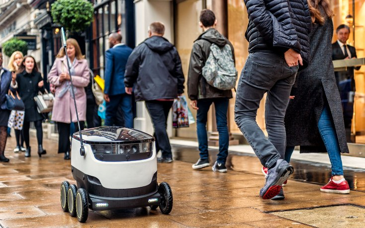Эстония стала первой страной в ЕС, где для доставки продуктов разрешено использовать роботов