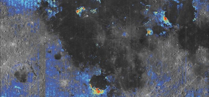Возможно, Луна скрывает под своей поверхностью гигантские запасы воды