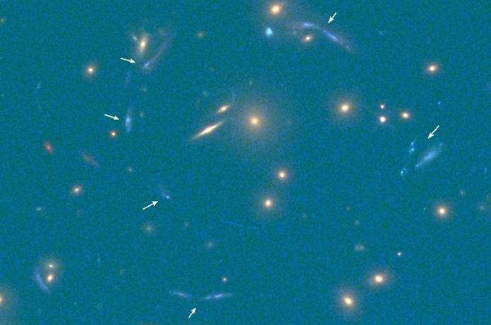 Исследователи обнаружили одну из самых ярких галактик, которые когда-либо наблюдались