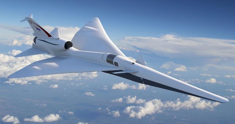 НАСА планирует построить необычайно тихий сверхзвуковой самолёт