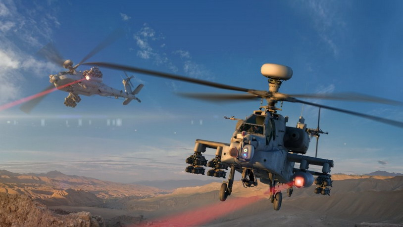 Армия США испытывает лазеры вертолетного базирования