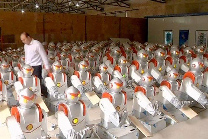 Китай создает целую армию роботов-рабочих