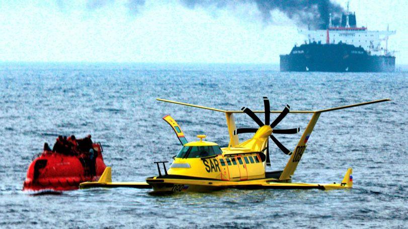 Автономные крылатые суда могут обеспечивать срочную доставку грузов