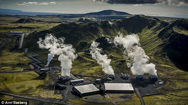 Методами геоинжиниринга создана первая в мире электростанция с отрицательным выбросом углекислого газа