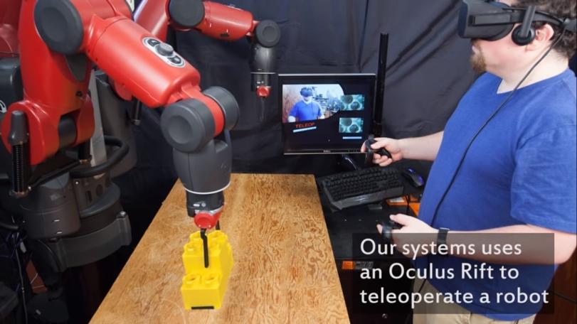 Ученые тестируют систему VR для дистанционного управления роботами из виртуальной кабины