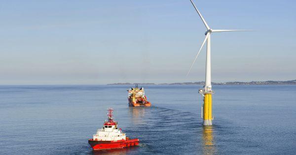 Начата эксплуатация первого в мире плавучего ветроэнергетического парка