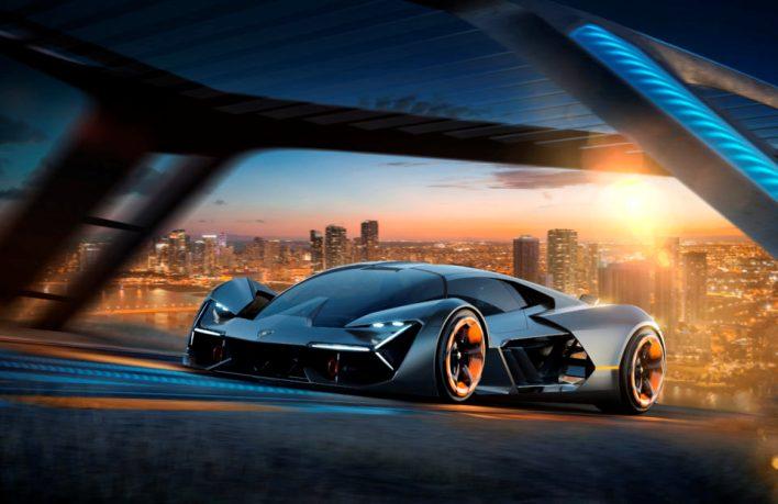 Lamborghini представляет самовосстанавливающийся суперкар будущего