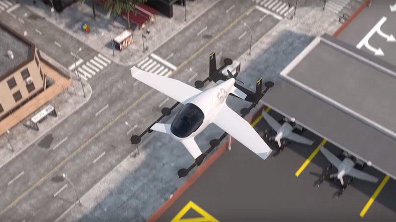 Летающие автомобили-такси появятся раньше, чем все думают