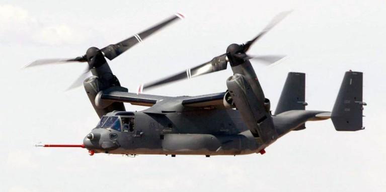 Американская морская пехота хочет вооружить конвертопланы «Оспрей»всесокрушающей ракетной установкой