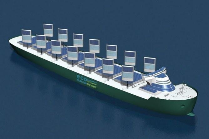 Новый корабль с жёсткими солнечными парусами использует силу солнца и ветра