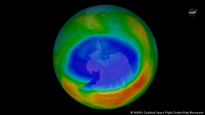Впервые получено доказательство благотворности запрета на некоторые химические вещества в плане распространения озоновой дыры