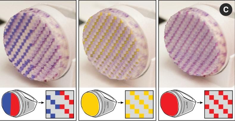 Новая технология ученых МИТ позволяет печатать 3D-ювелирные украшения, которые меняют свой цвет