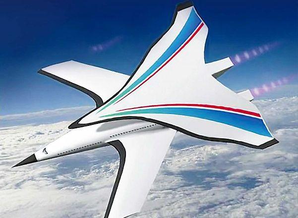 Китайский гиперзвуковой самолёт долетит из Пекина до Нью-Йорка за пару часов