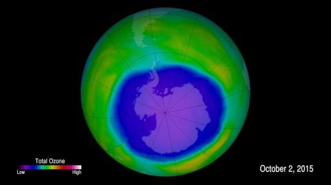 Озоновый слой не восстанавливается, и ученые не могут понять, почему