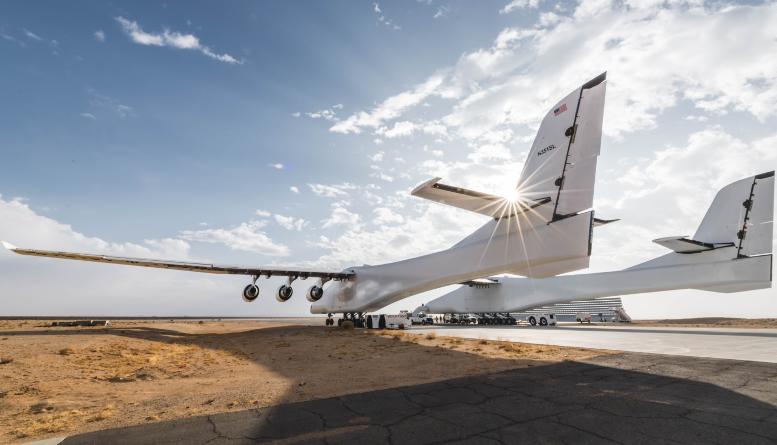 Самый большой в мире самолёт успешно прошел скоростные рулежные испытания