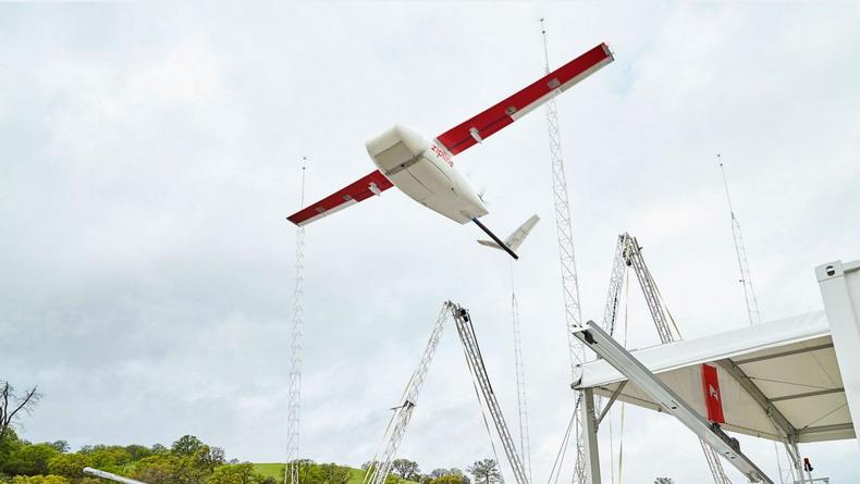 Компания Zipline создала самый быстрый в мире дрон для коммерческой доставки  грузов