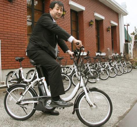 Езда на электровелосипеде благотворна для нетренированных людей
