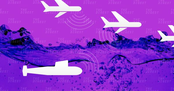 Подводные лодки под водой и летательные аппараты теперь смогут поддерживать между собой прямую связь