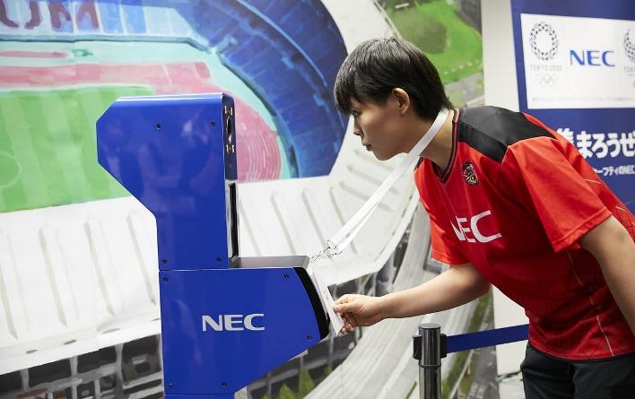 На Олимпийских играх в Токио будет использоваться для обеспечения безопасности участников технология распознавание лиц