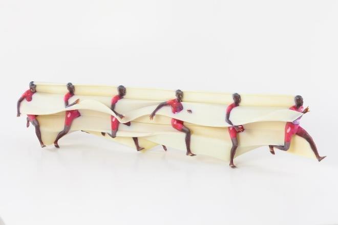 Исследователи научились получать из обычного двухмерного видеоизображения трехмерные фрагментарные «скульптуры движения»