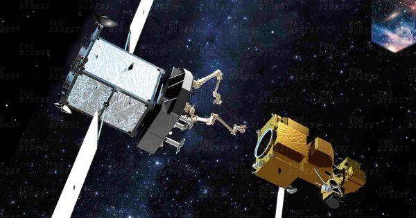 Роботы-ремонтники смогут починить спутник на орбите