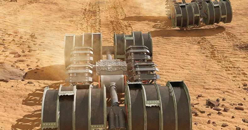 Учёные НАСА считают возможным получать ракетное топливо из марсианской почвы