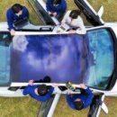 Совсем скоро в продаже появятся автомобили со встроенной на крыше панелью солнечной батареи