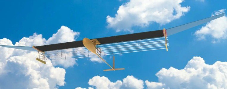 Впервые совершил полёт абсолютно бесшумный самолёт без движущихся элементов, не выбрасывающий никаких выхлопов