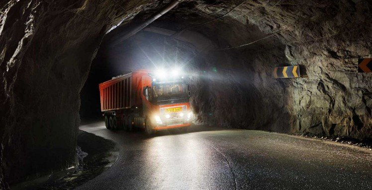 Беспилотные грузовики будут осуществлять коммерческую транспортировку известняка в Норвегии