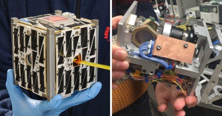 Благодаря лазерной связи мини-спутники смогут отправлять данные быстрее и в больших объёмах