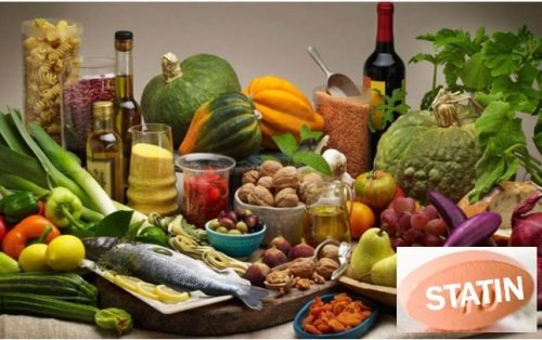 Статины более эффективны для тех, кто придерживается средиземноморской диеты