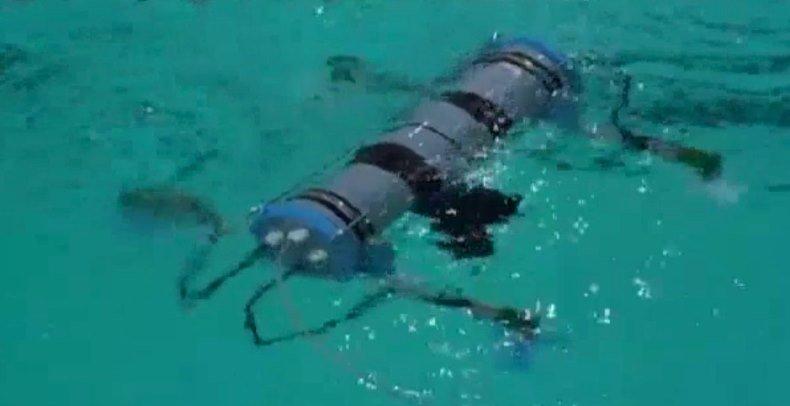 Россия тестирует «подводный квадрокоптер» для исследования холодных глубин морей и рек