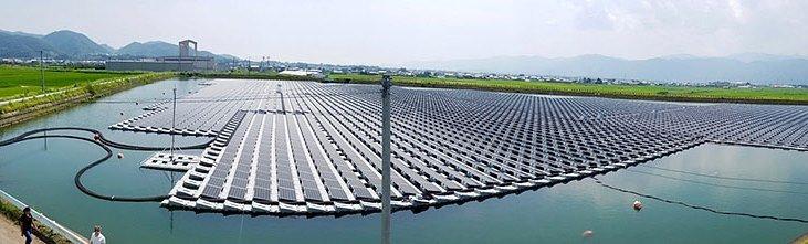 Система плавучих солнечных батарей имеет большие перспективы в США