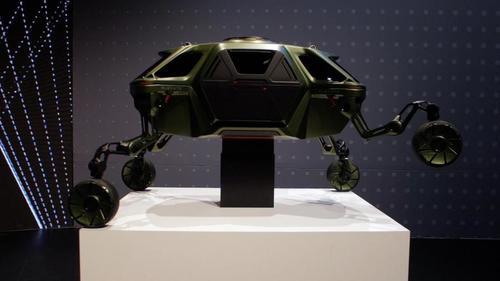 Hyundai представил концепцию «шагающего автомобиля» с роботизированными ногами