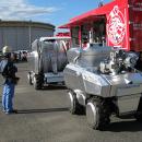 Японские разработчики создали пожарных роботов, которых можно использовать вместо людей при тушении пожаров высокой сложности