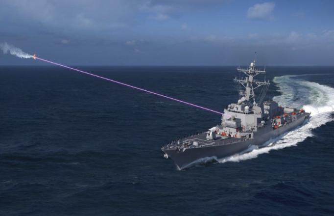 Американский флот будет «сжигать» корабли противника новым лазерным оружием