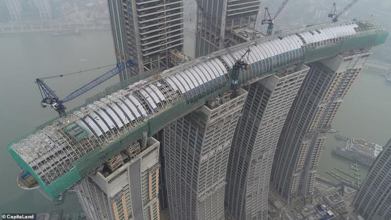 Близится завершение строительства китайского «горизонтального небоскреба»