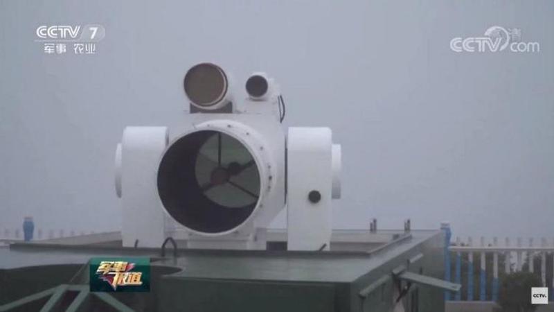 Китай испытывает тактическое лазерное оружие, очень похожее на американскую лазерную систему для ВМС США