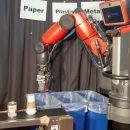 Робот-сортировщик мусора может на ощупь сортировать бумагу и пластик