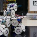 Разрабатываются модульные роботы, способные объединяться в одну большую гибкую машину