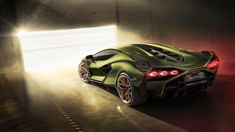 Lamborghini's выпустил свой первый гибридный суперкар Sián