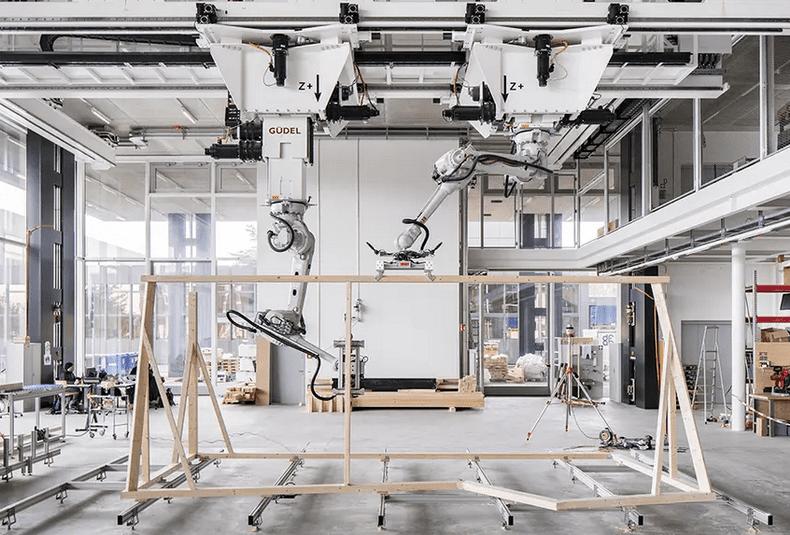 Швейцарский DFAB-дом был полностью создан роботами