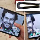 Брат колумбийского наркобарона Пабло Эскобара представил складной смартфон, который можно разрушить лишь с помощью огня