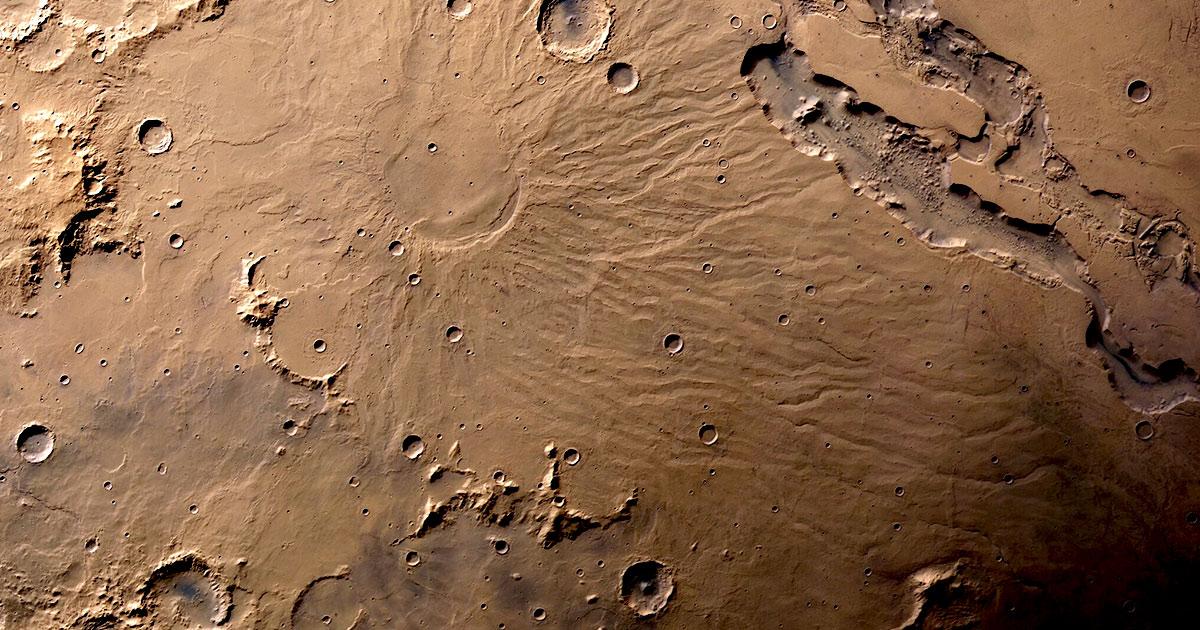 Ученые утверждают, что нашли идеальную точку для первой колонии на Марсе